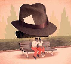 How to...overhear a secret  Skip Sterling Illustration