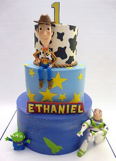 Woody and buzz cake