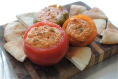 roasted tomato hummus