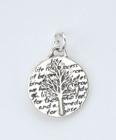 Take a look at this KEVIN N ANNA Sterling Silver Small Tree of Life Pendant on zulily today! Jewelry Box, Jewelery, Jewelry Accessories, Jewelry Ideas, Tree Of Life Pendant, Diamond Are A Girls Best Friend, Cool Gifts, Sterling Silver Pendants, Girly Things