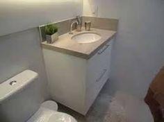 Resultado de imagem para decoração de ambientes pequenos banheiro