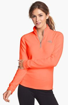 The North Face 'Glacier' Quarter Zip Pullover available at #Nordstrom Love & want