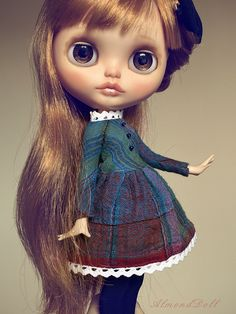 Gorgeous model -  Cookie from KarolineFelix, dress by AlmondDoll