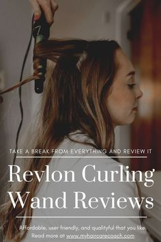 Revlon Curling Wand is a good investment you should make on your hair. It offers the best experience when it comes to hair curling. #CurlingWand #CurlingIron #RevlonCurlingWand #CurlingWandTips #CurlingWandHairStyles Curling Wand Reviews, Curling Iron Tips, Best Curling Wands, Curling Hair With Wand, Curling Iron Hairstyles, Curled Hairstyles, Wand Curls, Best Investments, Revlon