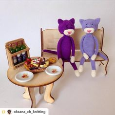 Такой вот скромный week end у котиков Repost from @oksana_ch_knitting: P.S. Мамочка этих малышей Катюша @manicheva_ekaterina #вязание#рукоделие#ручнаяработа#вязаныеигрушки#игрушки#амигуруми#заказ#назаказ#кот#коты#котики#киски#аминеко#девочки#весна#amigurumi#crochet#knitting#loveknitting#handmade#toys#amineko#cat#spring#moskow#oksana_toys by villy_vanilly_shop