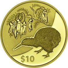 10 Dollar Gold Kiwi 2012 PP