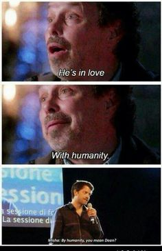 We know what Cas is on love with