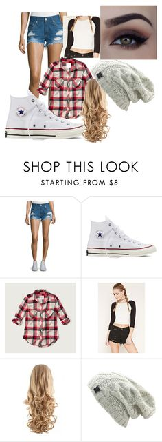 """""""How to wear converse"""" by tahans on Polyvore featuring rag & bone/JEAN, Converse, Abercrombie & Fitch and Forever 21"""