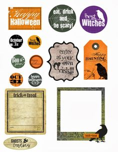 Free Halloween Printable From Lorrieu0027s Story