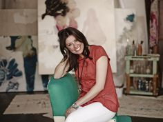 Meet the Maker: @HerringtonMel - loved her work from Venice Art Block.