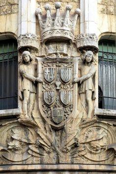 Edifici annex de la Caixa de Pensions  1920  Architect: Enric Sagnier i Villavecchia