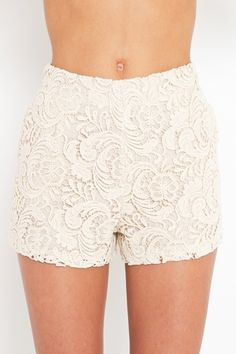 Crochet Tap Shorts