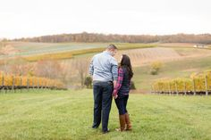 Erika + Joel | A Beautiful Autumn Engagement | Candice Adelle Wedding + Engagement Photography | VA DC MD Photographer