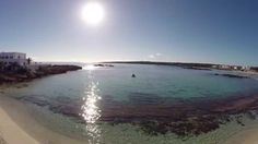 Beaches of Formentera 2014 - drone testing