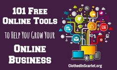 101 Free Online Tools to Help You Grow Your Online Business