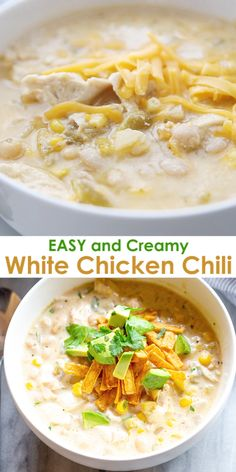 Fix it and forget it, this Slow Cooker Chicken Enchilada Soup Recipe is an easy weeknight dinner idea! Recipe includes instant pot and stove top directions too! Slow Cooker Chili, Slow Cooker Huhn, Slow Cooker Chicken, Chicken Chili Crock Pot, Chicken Green Chili Soup, Chicken Soup With Rice, Buffalo Chicken Chilli, Soup With Rotisserie Chicken, Instapot Chicken Soup