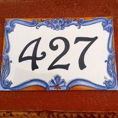 Azulejo endereço