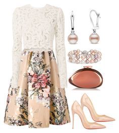Easter fashion.... by used2bnewvintage on Polyvore featuring A.L.C., Fendi, Christian Louboutin, Benedetta Bruzziches and Blue Nile