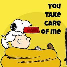 You Take Care Of Me !! ❤❤