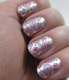 Frazzle and Aniploish: Recent NOTD: Sally Hansen Pink a Prize