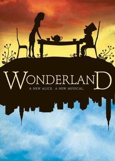 Theater Poster Inspiration | Wonderland Broadway Poster Musical