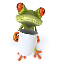 Which one of you toads drank my fuckin' coffee?!?