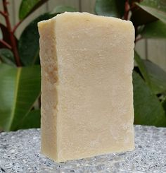 =DETAILS=-  Our soaps are all handmade, handcut and handpackaged. Weight - 110 grams/4 oz.  This is a Fragrance Free Soap Bar!  Description -