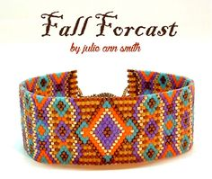 FALL FORCAST Bracelet Pattern | Bead-Patterns