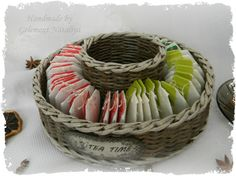 Storage Baskets, Basket Weaving, Storage Solutions, Paper Art, Creative, Gifts, Home Decor, Model, Wicker