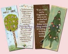 Family tree bookmark   #genealogy