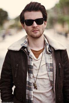 Men's fall fashion - neutral tones & layers!