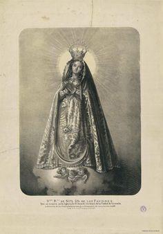 [Virgen de los Favores]. Casado y Esteve, Francisco s. XIX — Grabado — 1801-1900
