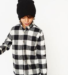 Image 1 of Ribbed label hat from Zara