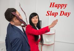 Valentine Slap day images