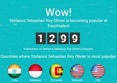 """Stefanus Sebastian Roy Olivier"" #Creative #Art @Touchtalent http://bit.ly/Touchtalent-p"