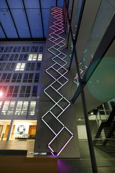 James Clar |   Synesthetic Timeline at Frankfurt Airport (2013)