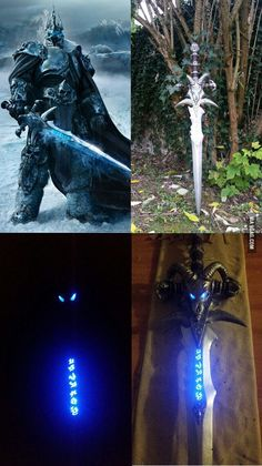After 8 month and 120 hours of work, I've finally made Frostmourne for my boyfriend's birthday