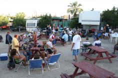 Marco's RV Park - Half a mile east of downtown, across the street from the beach with beach access. Free Wi-Fi! Full Hookups (electric, water and sewer) Accommodates up to 35-foot RVs, call for availability