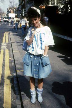 In Photos: The Best of '80s Fashion  - HarpersBAZAAR.com
