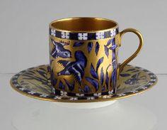 Coalport Antique Vintage Cabinet Coffee Can Demitasse For Sale | Antiques.com | Classifieds