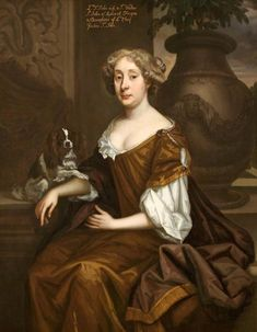 Lady Johanna St. John, Sir Godfrey Kneller, 1676