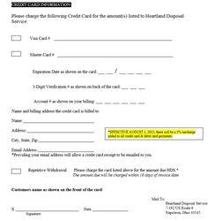 7 best credit card authorization form template images. Black Bedroom Furniture Sets. Home Design Ideas