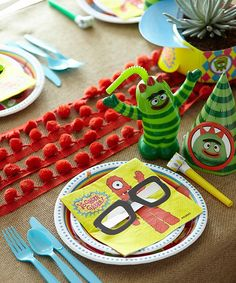 A Bright and Cool (Yes, Cool) Yo Gabba Gabba! Party