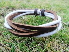Adjustable  Cuff Bracelet Made With 3 PCS Leather by accessory365, $3.00