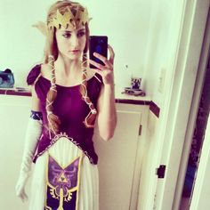This isn't a new picture, but it is the newest version of my #crown #Zelda…
