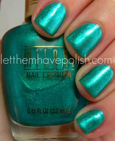 Lampetia Nails// Key West by Milani. If I were a mermaid... this would be my nail color.