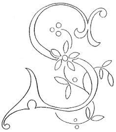 Cruces de hilo y rosas : Letras con flor