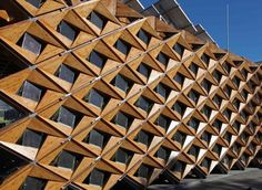 """Sun-Collecting, Parametric """"Skin"""" Surrounds Student-Designed House : TreeHugger"""