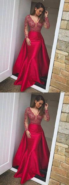 Mother Of The Bride Dresses Wedding Party Dress Responsible Real Pink Backless Evning 3/4 Sleeves Deep V Neck Vestido De Festa 3d Embroidery Lace Flowers Slits Mother Of The Bride Dresses
