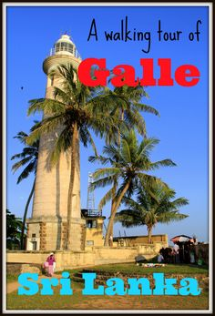 I did a great walking tour of Galle, the historic fort town on the south coast of Sri Lanka - read all bout it in my post!